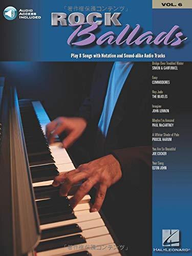 Price comparison product image Rock Ballads: Keyboard Play-Along Volume 6 (Hal Leonard Keyboard Play-Along)