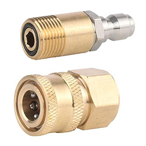 """Gazechimp M18 Druck Washer Adapter Set Schnell Trennen Kit Quick Connect 1/4\"""""""