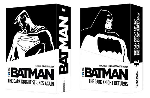 Batman : Coffret en 2 volumes : The Dark Knight Returns ; The Dark Knight Strikes Again
