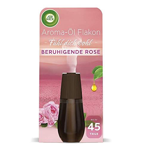 Air Wick Aroma-Öl Flakon – Duftöl Nachfüller für den Air Wick Diffuser – Duft: Beruhigende Rose – 1 x 20 ml ätherisches Öl