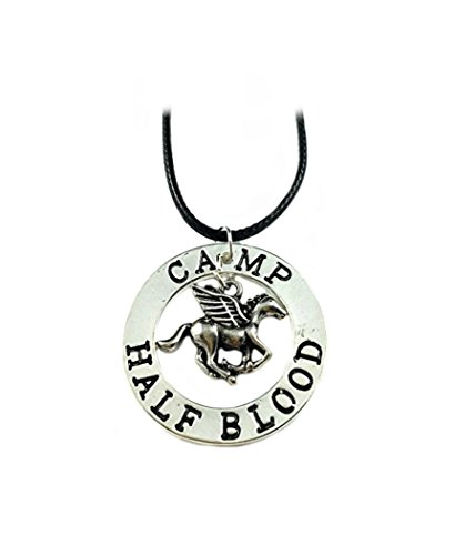 Percy Jackson Halskette Anhänger–Camp Half Blood–Filmen Bücher Cosplay Serie von Athena Marken
