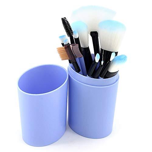 ShawFly Beauty Makeup Pinsel Set, 12Stk Mini Miniatur Augenbrauen Lidschatten Pinsel Makeup Pinsel...