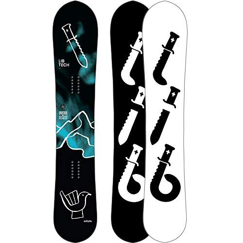 LIB Tech Herren Freeride Snowboard Swiss Knife HP C3 158 2019