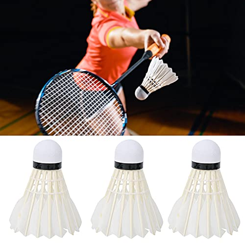 Badminton, Spelen Bij Nacht Gans Veerkracht Badminton Chemisch Vezel Materiaal Natuurlijk Kurk en Gans Haar Premie Spoel…