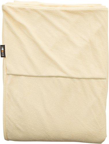 エムール 片面防水 掛け布団カバー セミダブル 約170×210cm クリーム