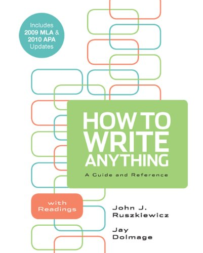 How to Write Anything: A Guide and Reference with...
