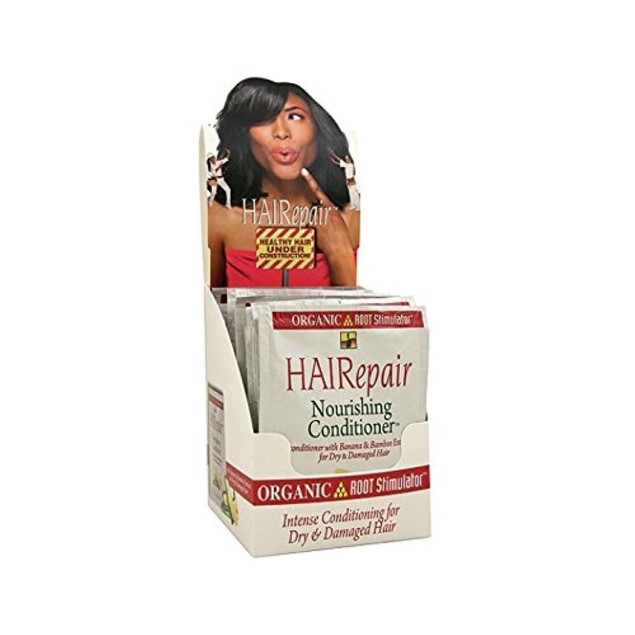 再生的ホームレス呼吸するOrganic Root Hairepair Nourish Conditioner 50 ml (Pack Of 12) (並行輸入品)