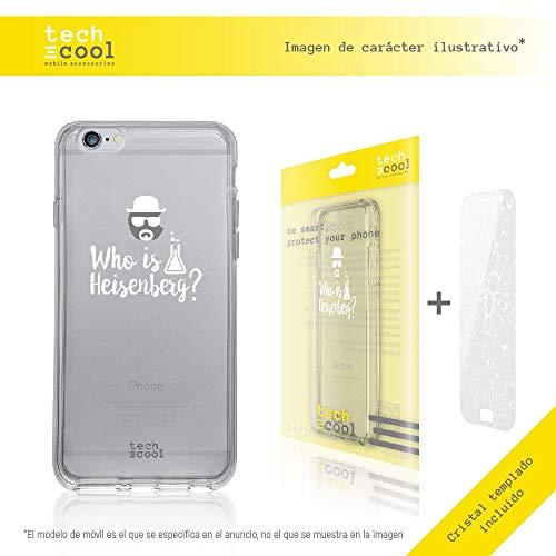 Funnytech Funda Silicona para iPhone 6 Plus / 6S Plus [Gel Silicona Flexible, Diseño Exclusivo] Heisenberg iPhone