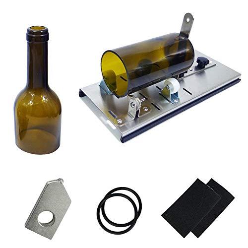Weinflasche Cutter Cutter Bindung Flaschenschneider Verwendet für Schneiden Weinflasche Bierflasche Champagner DIY Runde flasche