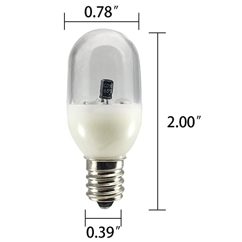Venhoo E12 LED Color Changing Salt Lamp Night Lights Replacement Bulbs for Kids Night Light, Bedroom Lights, Hallway Lights, Bathroom-One Pack