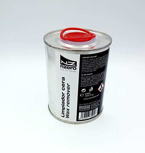 NZEROWAX - Liquido Limpiador de Cera, 1000ml | Limpiador Ceras Esquís y Tablas de Snowboard