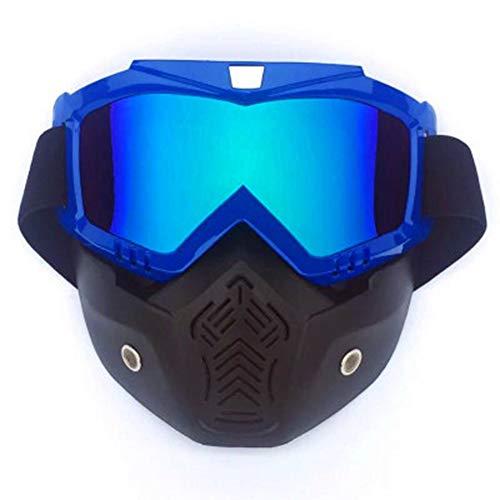 ZW Ski Goggles, Winddicht Skiën Glas Motocross Zonnebril voor Heren Vrouwen Ski Snowboard 4 Kleuren Om Uit te kiezen