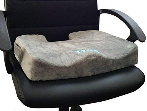 Bael Wellness Seat Cushion for Sciatica, Coccyx, Tailbone,...