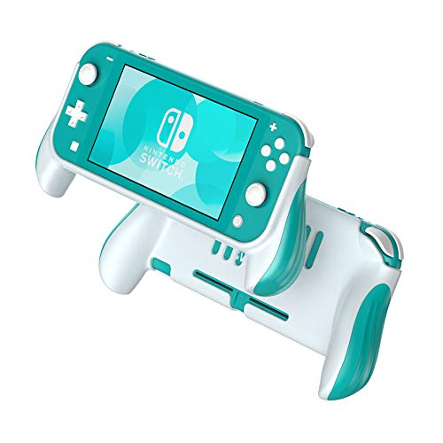 Funda de Agarre para Nintendo Switch Lite, Asas de Mano, Funda Protectora ergonómica, Accesorios compatibles con Nintendo Switch Lite (Verde)