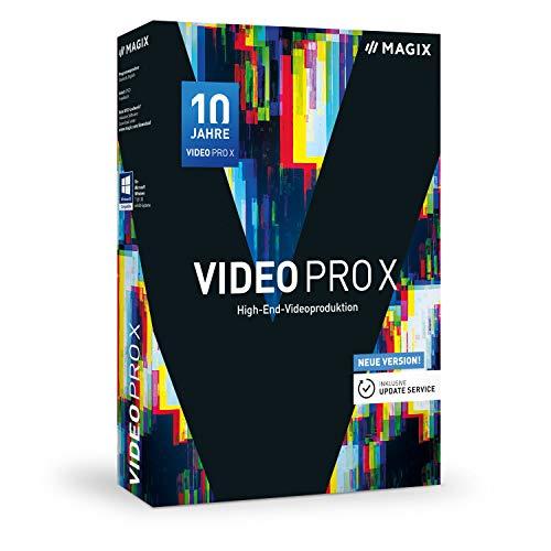 MAGIX Video Pro X – Jubiläumsversion 10 – Preisgekrönte Software für professionelle Videobearbeitung