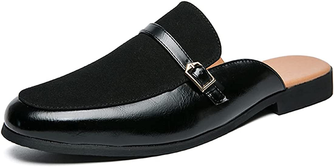 Men's Slippers New mail order Fashion Sales results No. 1 Comfortable Horsebit Low-top Lea