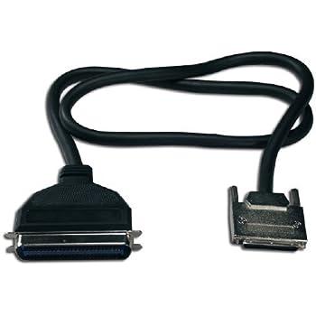 QVS 6ft Ultra320SCSI LVD VHDCen68 (.8mm VHDCI) Male to Cen50 Male Premium Cable