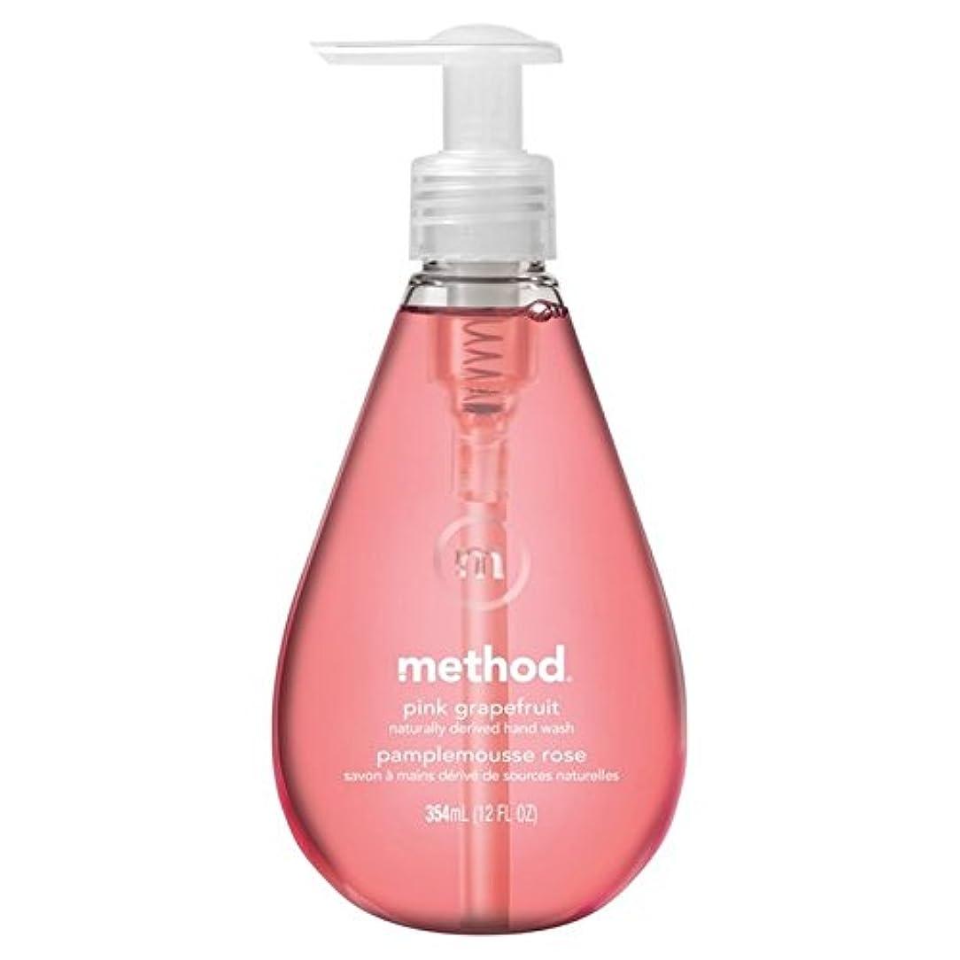 ベギンくさび前投薬Method Pink Grapefruit Handsoap 354ml (Pack of 6) - メソッドピンクグレープフルーツの354ミリリットル x6 [並行輸入品]