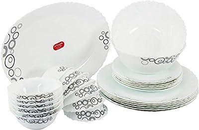 Trendcart, Opala Diva Pack of 27 Dinner Set (Glass)
