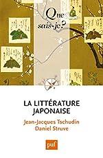 La littérature japonaise de Jean-Jacques Tschudin