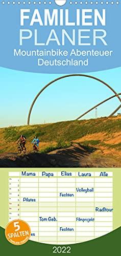 Mountainbike Abenteuer Deutschland (Wandkalender 2022, 21 cm x 45 cm, hoch)