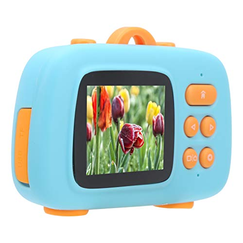 Cámara Cámara digital para niños Mini cámara digital para niños Cámara de dibujos animados linda de 2 pulgadas Juguetes Grabadora de video 1080P Regalo para niños Cámara de video para niños