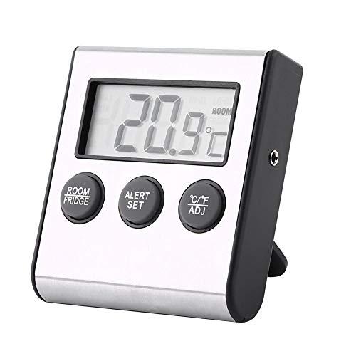 Digitale LCD-koelkast, staande temperatuur, koelkast, vrieskast, thermometer, badkamer met magneet
