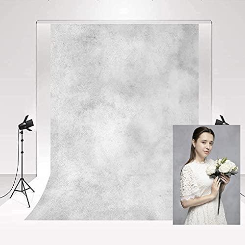 Kate Telón de Fondo de fotografía 2x3m Telón de Fondo de Retrato Gris Ahumado Abstracto Retro para Estudio de fotografía de Retrato de recién Nacido