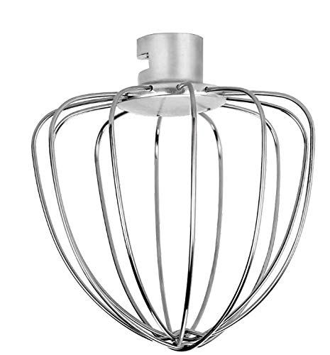 Aucma Stand Mixer Whisk, Stainless Steel Wire Whip for Aucma 6.5QT Stand Mixer SM-1518N