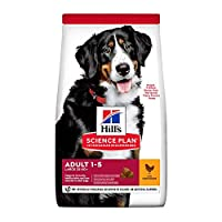 Suitable for large breed adult dogs 1-5 years of age with an ideal weight 25kg+ Specially formulated to fuel energy needs of large adult dogs Supports your dog's joint health with natural sources of glucosamine & chondroitin Maintain your large adult...