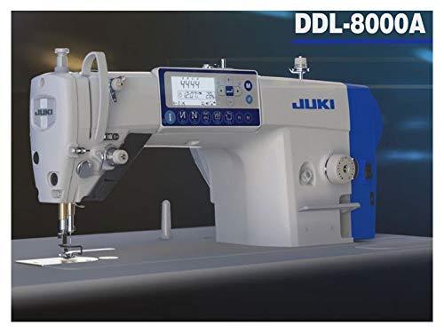 Juki DDL 8000APMS-NBK - Máquina de coser industrial (cortador automático de hilos, panel de control en la cabeza)