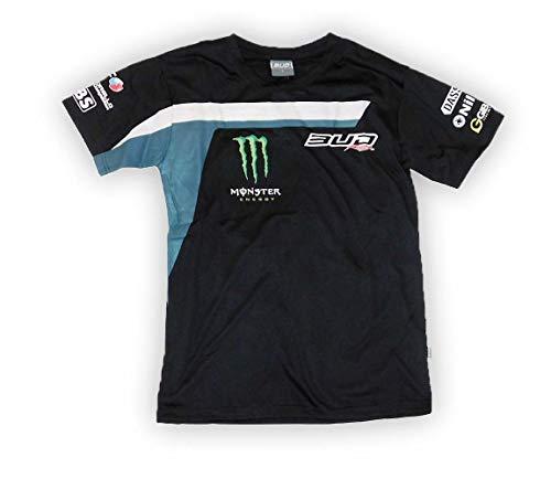 BUD RACING Tee Shirt Team Team - Homme - Noir - Taille L