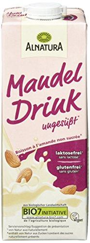 Alnatura Mandel Drink ungesüßt, 8er Pack