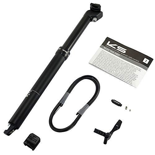 Kind Shock KS ETEN-I Road Version 30,9 x 440 mm Tige de selle avec compte-gouttes de voyage 125 mm, VH1994