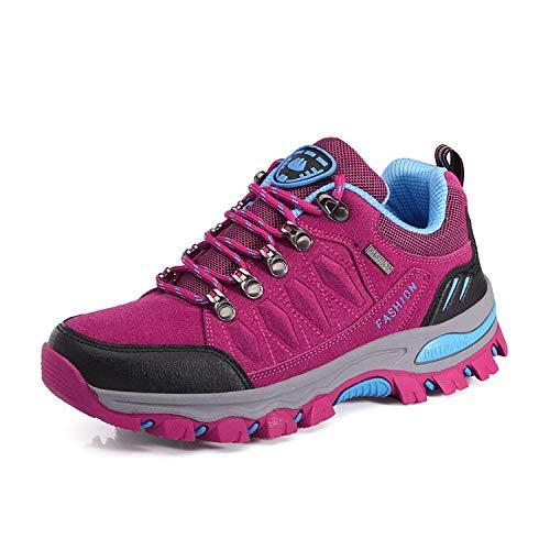 WOWEI Chaussures de Randonnée en Plein Air Imperméable Respirant Antidérapant...