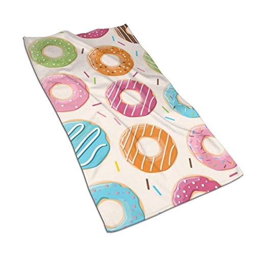 AOOEDM Toallas de Mano de rosquilla Rosa Towel Toalla de baño Toalla de baño Absorbente Suave Plato de Cocina Toalla de Invitados Decoraciones de baño para el hogar