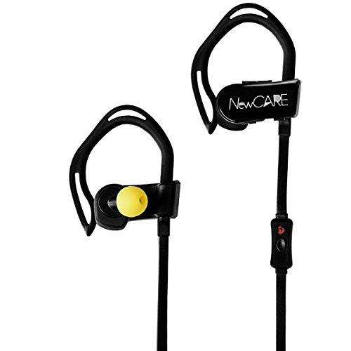 Newcare Sport Puls Kopfhörer Pulsmesser Kopfhörer Herzfrequenzmessung Headset drahtlose Bluetooth HiFi