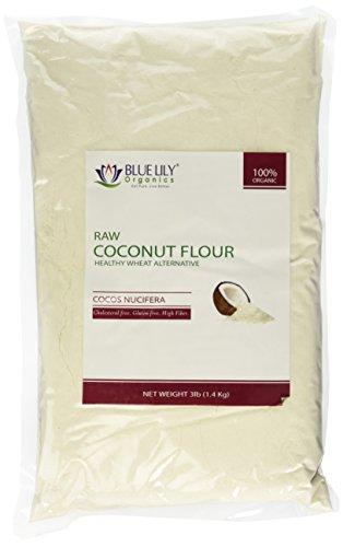 Blue Lily Organics Coconut Flour - 3 lb - Certified Organic