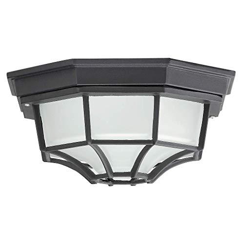 Éclairage Traditionnel Luminaire Extérieur Plafonnier Porche IP44 Noir 2/3/802