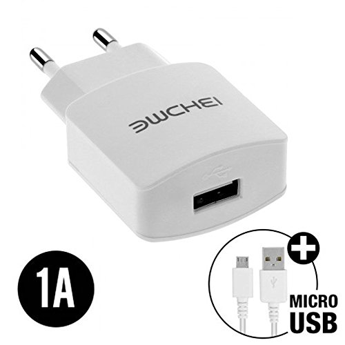 World Smartphones 1A Micro USB Charger for Lenovo K6 Note