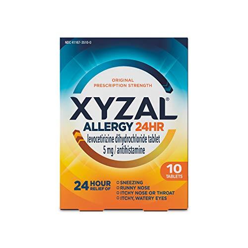 Xyzal Allergy 24 HR Tablet, 10 ct