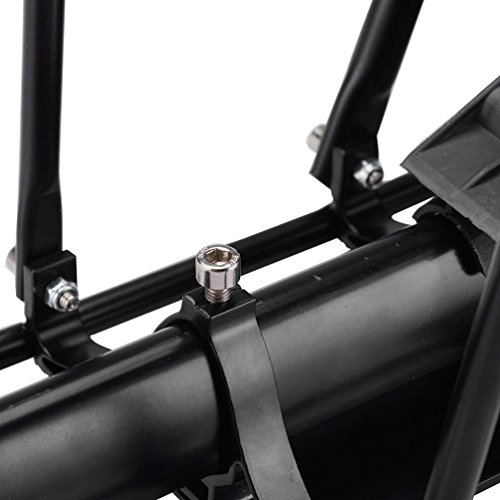 ROCKBROS Portaequipajes Trasero para Bicicleta Liberaci/ón r/ápida Ajustable con Reflector y Guardabarros de Aleaci/ón de Aluminio Carga M/áxima 75 kg