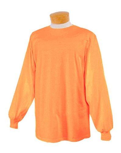 Jerzees. Safety Orange. XL. 29LSR. 00885306101831