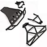 Traxxas 1/10 Slash 4x4 Platinum Front & Rear Bumpers & MOUNTS Skid Plate