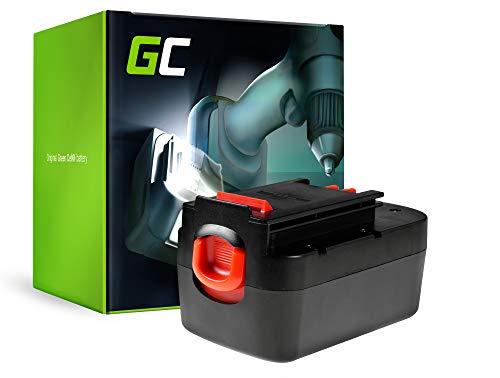 GC® (3Ah 12V Ni-MH celdas) Batería para Black & Decker HP126F2K de Herramienta Eléctrica