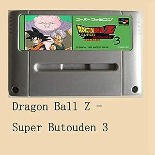 Dragon Ball Z-Super Butouden 3 16 Bit Big Gray Game Card