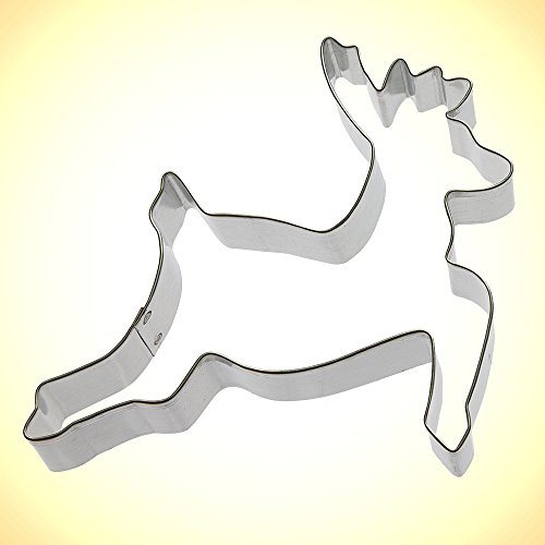 Foose Reindeer Cookie Cutter 5 in