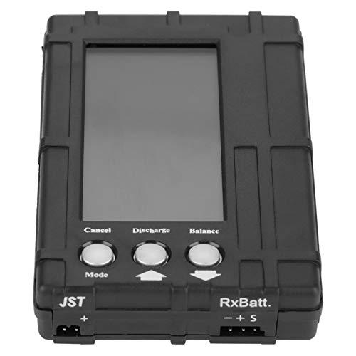 Alianthy Equilibrador de batería: descargador del equilibrador del medidor del indicador de Voltaje de la batería RC para 2~6S Li-Po/Li-Fe Battery