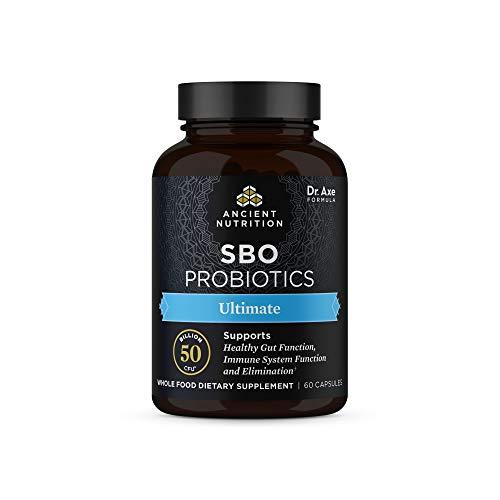 Probiotics by Ancient Nutrition, SBO Probiotics Ultimate 50 Billion...
