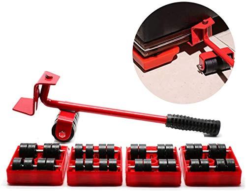 B&H-ERX 5 in 1 Spostamento Pesante Oggetto degli Attrezzi di Uso Domestico Mobili Mobile Device Risparmio di Lavoro Crowbar Mano Tool Set